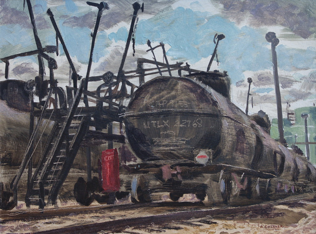 Tank Car Loading Rack, Imperial Oil, Edmonton Refinery