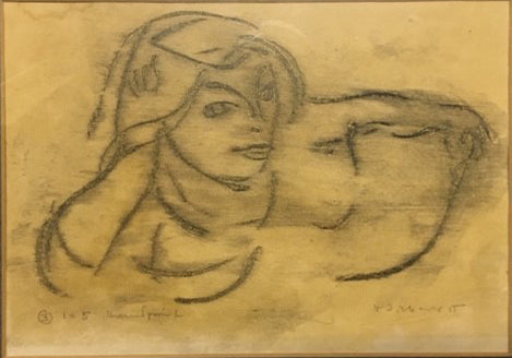 Untitled (Figure of Girl's Head)