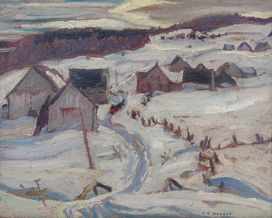 Early Spring, North Shore Village