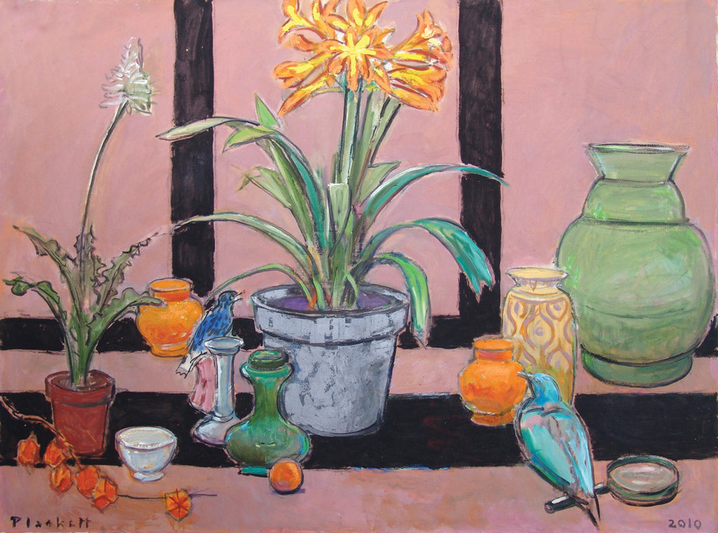 Still Life with Clivia