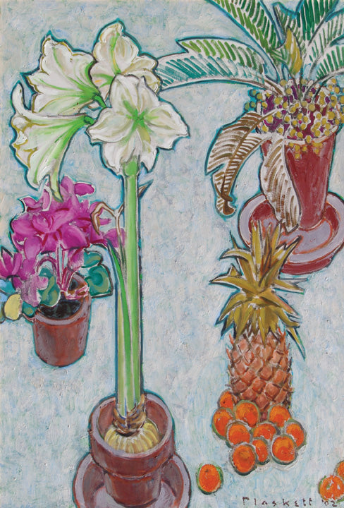 Still Life with White Amaryllis