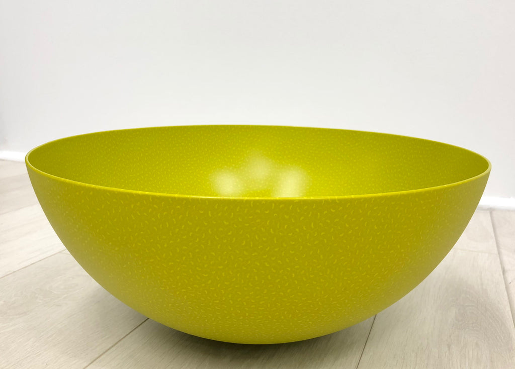 Lime green bowl