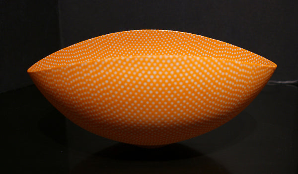 Orange with Transparent Spots