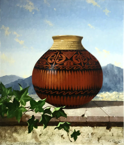 Mexican Urn- San Janeinto Mountains