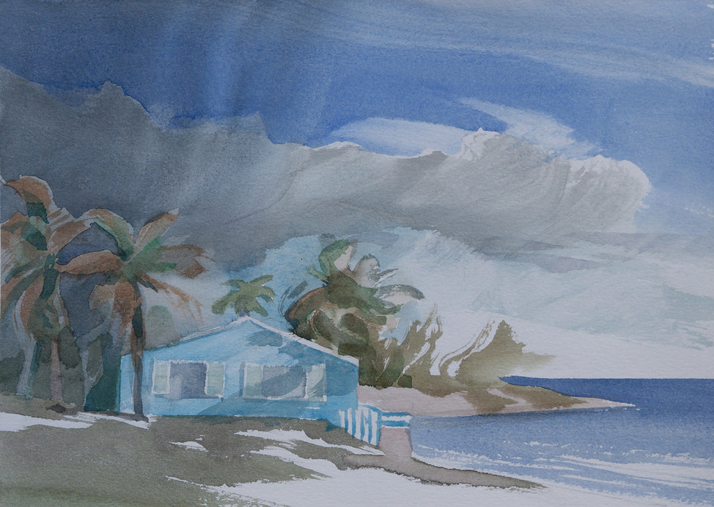 Blue House, Pomato Point, Anegada Island, BVI