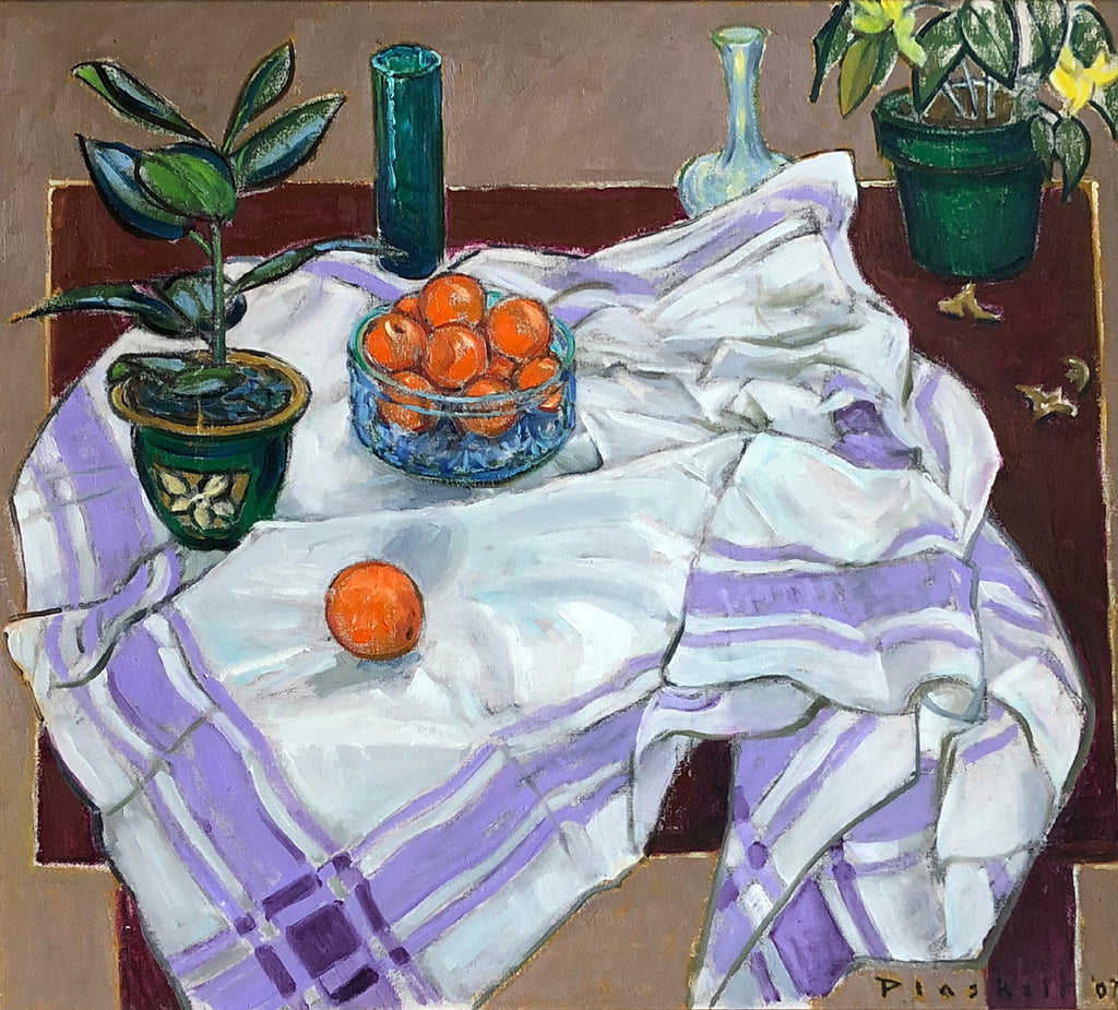 The White & Purple Cloth, 2