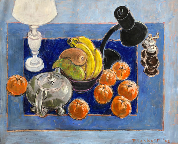 Untitled, still life with bananas, tomatoes