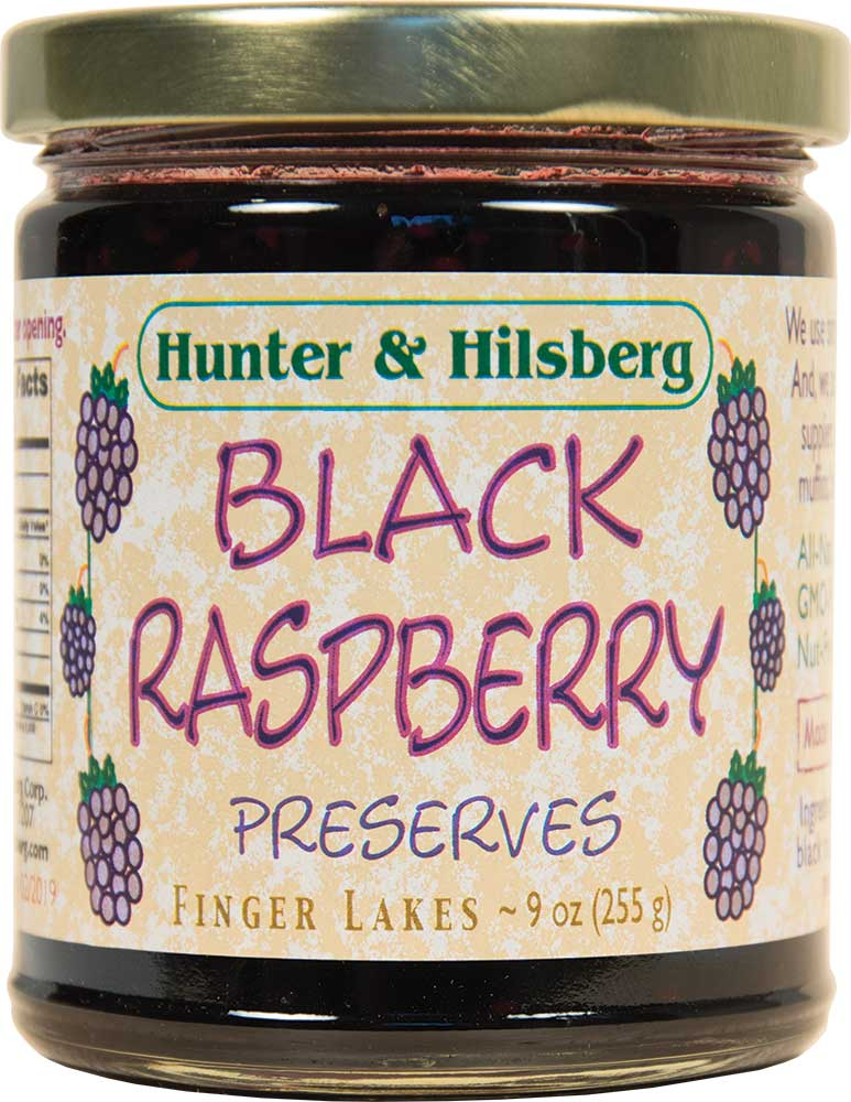 4-Pack: Black Raspberry Preserves