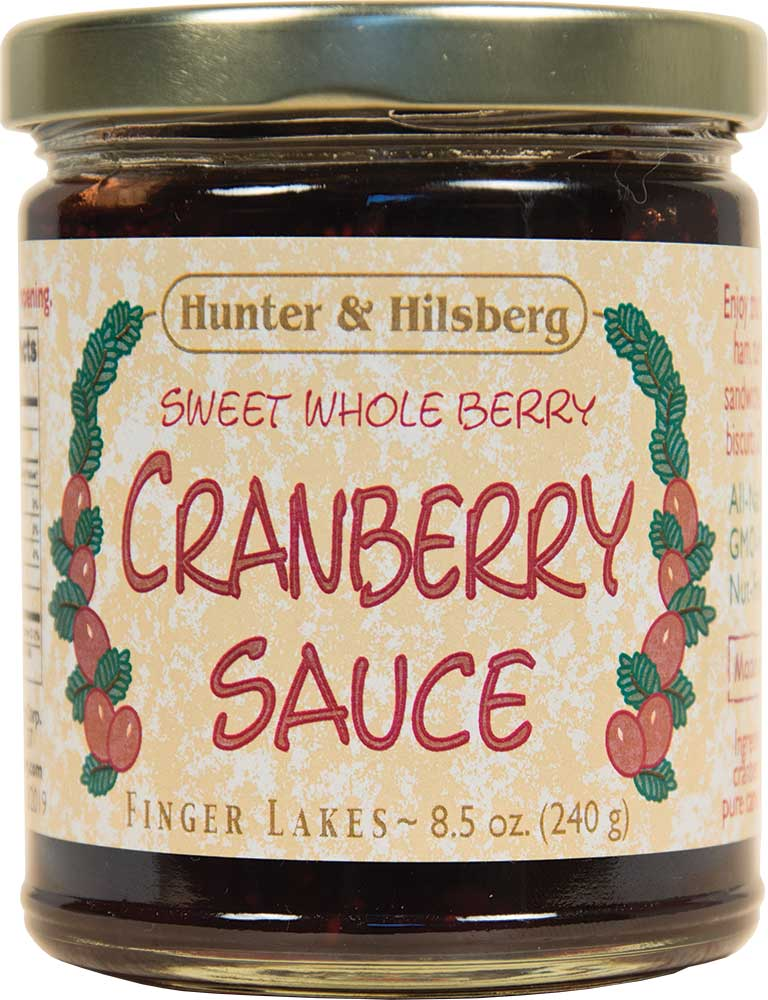 4-Pack: Cranberry Sauce (Sweet Whole Berry)