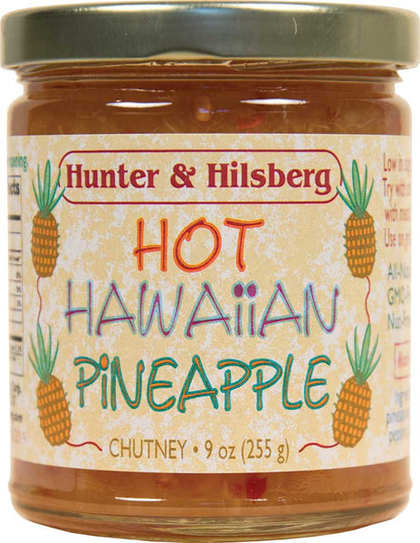 4-Pack: Hot Hawaiian Pineapple Chutney