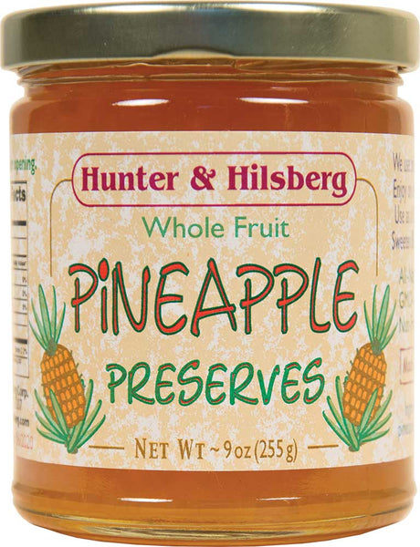 4-Pack: Whole Fruit Pineapple Preserves