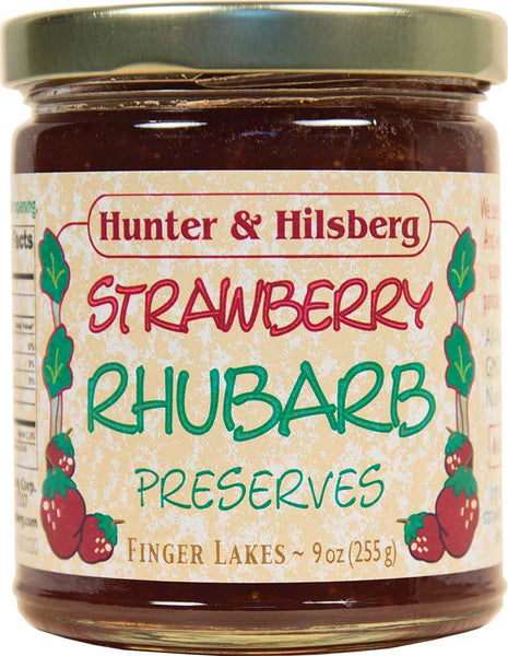 4-Pack: Strawberry RHUBARB Preserves