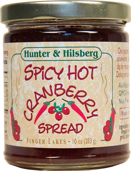 4-Pack: Spicy Hot Cranberry Spread