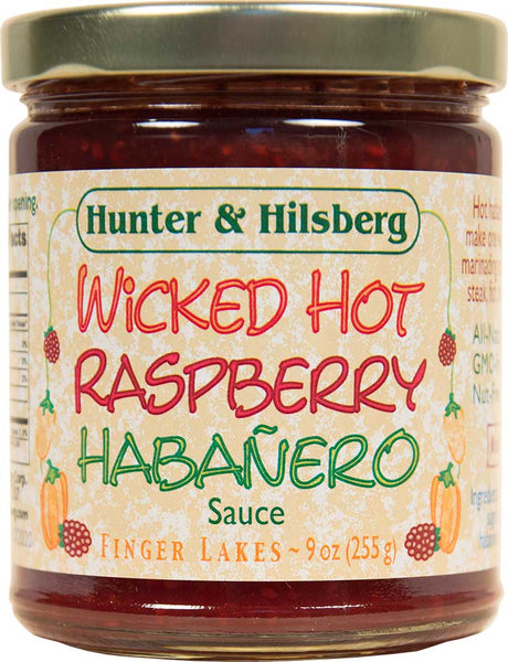 4-Pack: Wicked Hot Raspberry Habanero Sauce