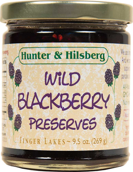 4-Pack: Wild Blackberry Preserves