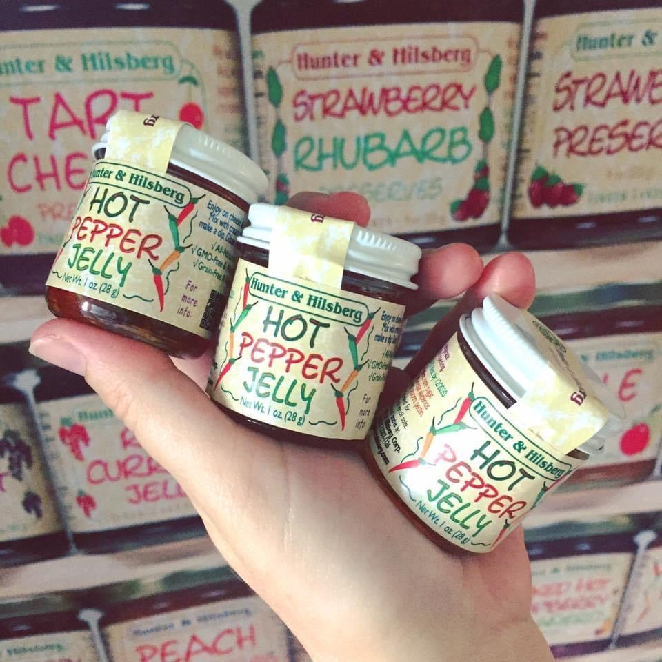 Stocking Stuffer: 6 Tiny Jars of Hot Pepper Jelly