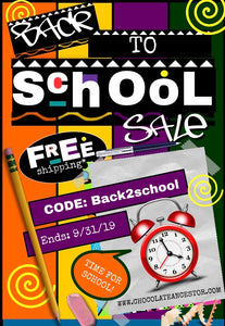 Chocolate Ancestor- Back to School Sale