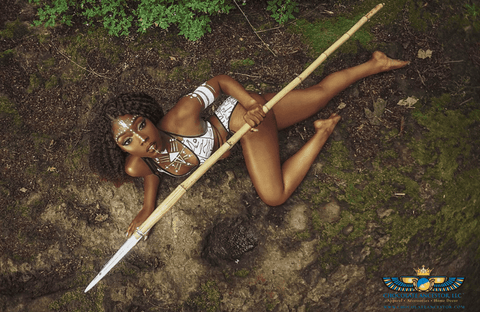 Chocolate Ancestor, LLC- Egyptian Hieroglyphics Bikini