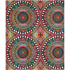Tribal Kaleidoscope Shower Curtain - Chocolate Ancestor