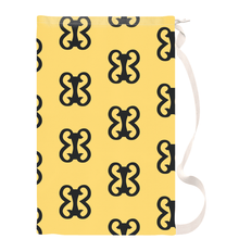 Load image into Gallery viewer, Adinkra Symbol Pempamsie Laundry Bags - Chocolate Ancestor