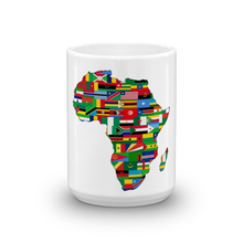 Load image into Gallery viewer, Chocolate Ancestor, LLC- African Flags Mug ${varant_title} Coffee Mug