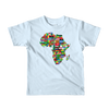 African Flags Short sleeve kids t-shirt - Chocolate Ancestor