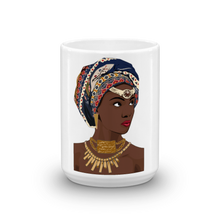 Load image into Gallery viewer, Chocolate Ancestor, LLC- African Headwrap Diva Mug ${varant_title} Mug