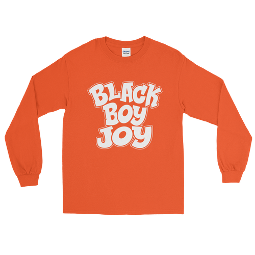 Chocolate Ancestor, LLC- Black Boy Joy Long Sleeve Men's T-Shirt ${varant_title} men long sleeve t-shirt