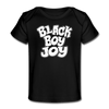 Black Boy Joy Organic Baby T-Shirt - Chocolate Ancestor