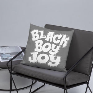 Chocolate Ancestor, LLC- Black Boy Joy Square Pillow ${varant_title} Pillow
