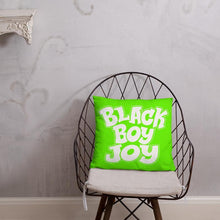 Load image into Gallery viewer, Chocolate Ancestor, LLC- Black Boy Joy Square Pillow ${varant_title} Pillow