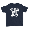 Black Boy Joy Youth Short Sleeve T-Shirt - Chocolate Ancestor