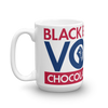 Black Educated Voter Mug - Chocolate Ancestor