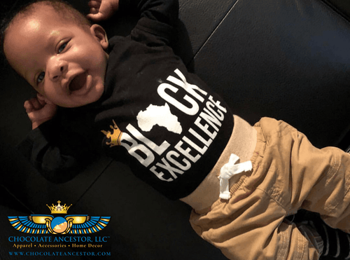 Chocolate Ancestor, LLC- Black Excellence Infant Bodysuit ${varant_title} Infant one-piece