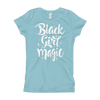 Black Girl Magic Girl's T-Shirt - Chocolate Ancestor