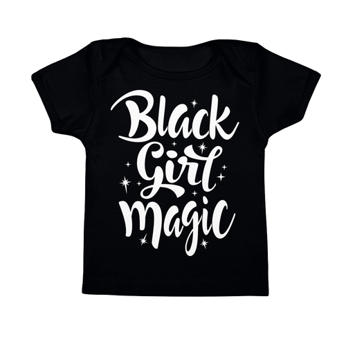 Chocolate Ancestor, LLC- Black Girl Magic (white) Infant Tee ${varant_title} infant tee