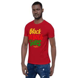 Chocolate Ancestor, LLC- Black on Both Sides (YRG) Short-Sleeve Unisex T-Shirt ${varant_title} unisex short sleeve shirt