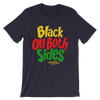 Black on Both Sides (YRG) Short-Sleeve Unisex T-Shirt - Chocolate Ancestor