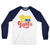 Born From Greatness Unisex Long Sleeve Baseball T-Shirt - Chocolate Ancestor