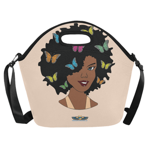 Chocolate Ancestor, LLC- Chocolate Butterfly Diva Lunch Bag ${varant_title} Lunch Bag