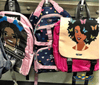 Chocolate Butterfly Diva Shoulders Bookbag - Chocolate Ancestor
