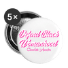 Defend Black Womanhood Buttons large 2.2'' (5-pack) - Chocolate Ancestor