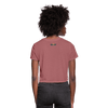Defend Black Womanhood Women's Crop Top (Style 2) - Chocolate Ancestor