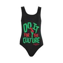Load image into Gallery viewer, Chocolate Ancestor, LLC- Do it for the Culture One Piece Swimsuit ${varant_title} One Piece Swimsuit