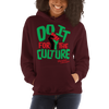 Do it for the Culture (RBG) Hooded Sweatshirt - Chocolate Ancestor