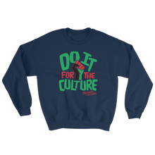 Load image into Gallery viewer, Chocolate Ancestor, LLC- Do it for the Culture Unisex Crewneck Sweatshirt ${varant_title} Unisex Sweatshirt