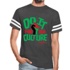Do It For The Culture Unisex Vintage Sport T-Shirt - Chocolate Ancestor
