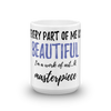 Every Part of Me is Beautiful Mug - Chocolate Ancestor