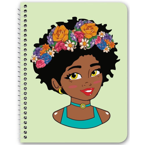 Chocolate Ancestor, LLC- Filter Diva Notebook ${varant_title} Spiral Notebook