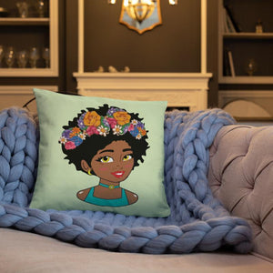 Chocolate Ancestor, LLC- Filter Diva Square Pillow ${varant_title} Square Pillow